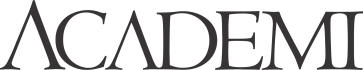 Academi Logo - Black